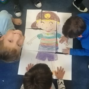 Dzień chłopaka - atrakcje świetlicowe w klasach trzecich